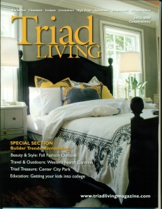 Triad Living Cover