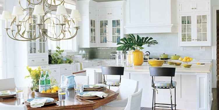Tuesday s treat white kitchens design loft the for Traditional home kitchens