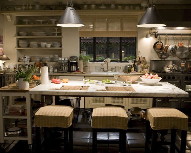 Movie sets design loft the design blog of barbour for House kitchen set