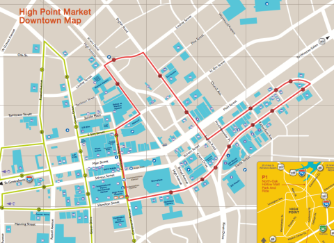 Map from the HP Market Authority